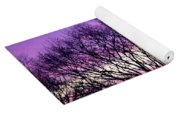 Silhouettes Against Pink Skies Yoga Mat
