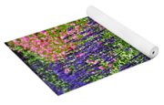 Simple Beauty - Purple And Pink Yoga Mat