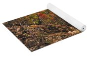 Smoky Mountain Autumn Yoga Mat