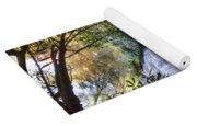 Smoky Mountain Waterfall Yoga Mat