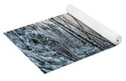 Snow Falls On The Alders  Astoria Yoga Mat