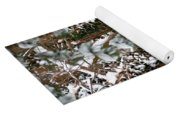 Snow On Tress 2 Yoga Mat