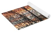 Snow Sunset Yoga Mat
