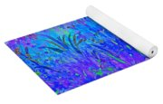 Soft Pastel Floral Abstract Yoga Mat