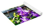 Solina Clematis On Fence Yoga Mat