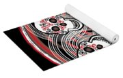 Spinning Celtic Skulls Yoga Mat
