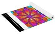 Spirituality - Life Lights - Kaleidoscope - Triptych Yoga Mat