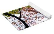 Splash Of Autumn Colors Yoga Mat