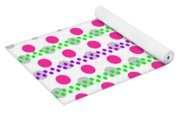 Spotty Stripe Yoga Mat