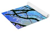 Spring Approaches Yoga Mat