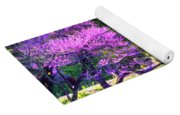 Spring Blossoms On Lake Marmo Yoga Mat