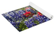 Spring Wildflowers Yoga Mat