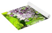 Springtime Moments- The Butterfly And The Lilac  Yoga Mat