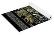 Sq Sunflower Stack Cont L Yoga Mat
