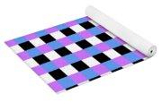 Squares Yoga Mat