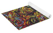 Squiggling In The Wind Yoga Mat
