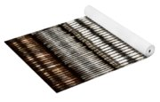 Stacked Coins Yoga Mat