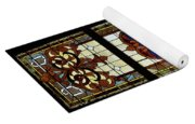 Stained Glass 3 Panel Vertical Composite 01 Yoga Mat