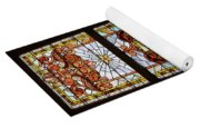 Stained Glass 3 Panel Vertical Composite 02 Yoga Mat