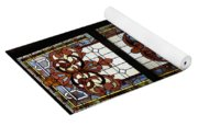 Stained Glass 3 Panel Vertical Composite 04 Yoga Mat