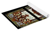 Stained Glass 3 Panel Vertical Composite 05 Yoga Mat