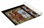 Stained Glass 3 Panel Vertical Composite 06 Yoga Mat