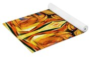 Stained Glass Abstract Yoga Mat