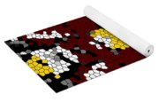 Stained Glass Art Abstract Yoga Mat