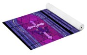 Stained Glass - Purple Yoga Mat