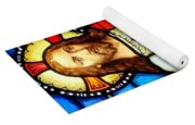 Stained Glass Saviour Yoga Mat