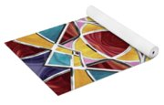 Stained Glass Window 5 Yoga Mat