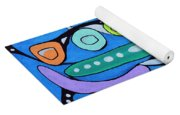 Stepping Into The Sixties Yoga Mat
