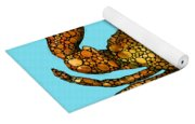 Stone Rock'd Stone Crab By Sharon Cummings Yoga Mat