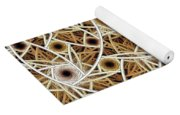 Straw Mosaic Yoga Mat