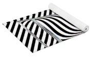 Striped Water Yoga Mat