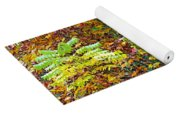 Sumac Leaves In The Fall Yoga Mat