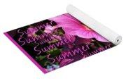 Summer Greetings Yoga Mat