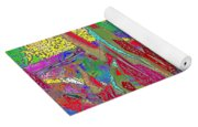 Summer In The Meadow Yoga Mat