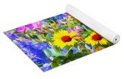 Summer Landscape Yoga Mat