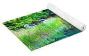 Summer Monet Reflections Yoga Mat