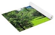 Summer Pond And The Blueridge Yoga Mat