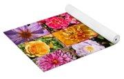 Summer Roses And Dahlias 2013 Yoga Mat
