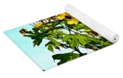Sun Flowers In The Sun Yoga Mat