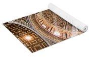 Sun Rays Through The Dome Yoga Mat