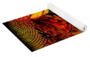 Sunflower And Butterfly Yoga Mat