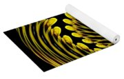 Sunflower Polar Coordinate Effect 1 Yoga Mat