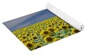 Sunflowers Forever Yoga Mat