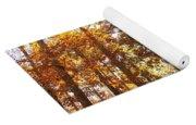 Sunny Hardwoods Yoga Mat