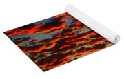 Sunset In The Clouds Yoga Mat