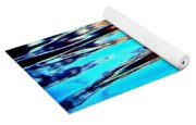 Sunset On Water Yoga Mat